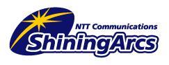 NTT shining arcs