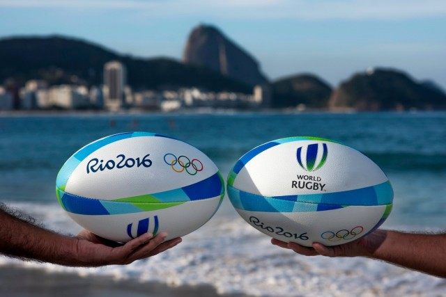 Lançada a bola do rugby do Rio 2016!  feeaa6f409a09