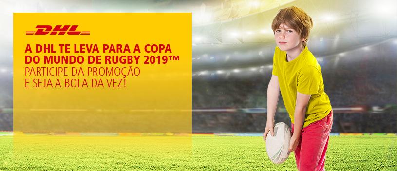 da0537b235 Gincana da DHL Express oferece viagem ao Japão para o Mundial de Rugby |  Portal do Rugby